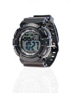 Černé pánské hodinky Bolf 9003
