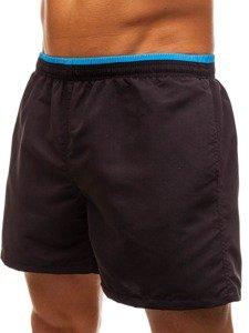 Černé pánské koupací šortky Bolf Y768