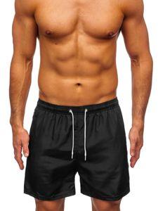 Černé pánské plavecké šortky Bolf ST019