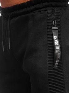 Černé pánské tepláky Bolf JX8967