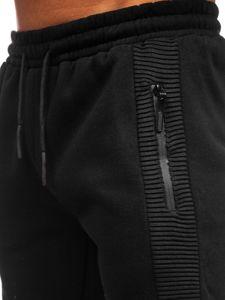 Černé pánské tepláky Bolf JX8970