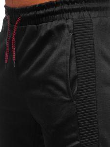 Černé pánské tepláky Bolf JZ11015