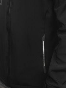Černo-žlutá pánská softshellová bunda Bolf 12268