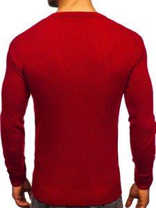 Červený pánský svetr Bolf 0001