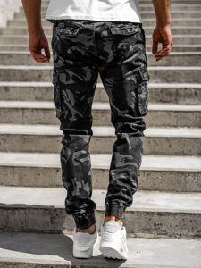 Grafitové pánské jogger kapsáče Bolf CT6019