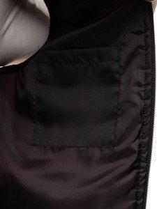 Modrá pánská vesta s kapucí Bolf AK90