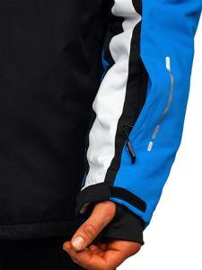 Modrá pánská zimní lyžařská bunda Bolf 1339