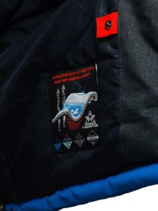 Modrá pánská zimní lyžařská bunda Bolf BK085