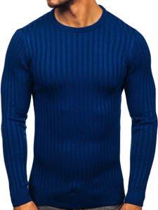 Modrý pánský svetr Bolf 4502