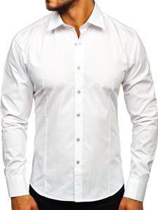 Pánská košile BOLF 1703 bílá