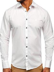 Pánská košile BOLF 4719 bílá