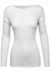 Světke šedý dámský svetr Bolf 0970