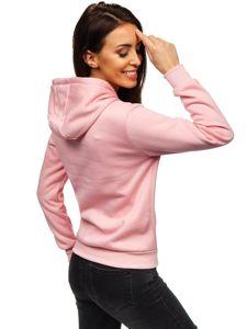 Světle růžová dámská mikina Bolf W02