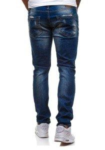 Tmavě modré pánské džínové kalhoty Bolf 4838-1 (1017)