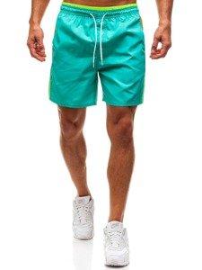 Zelené pánské koupací šortky Bolf 246