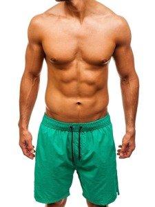 Zelené pánské koupací šortky Bolf 82243