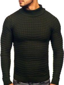 Zelený pánský rolák Bolf 4529